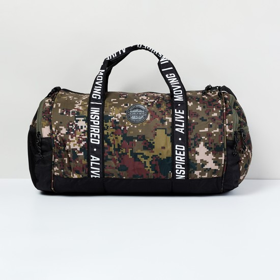MAX Camouflage Print Duffel Bag