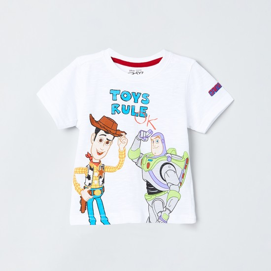 MAX Toy Story Print Crew Neck T-shirt