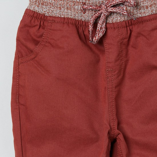 MAX Panelled Trousers with Scoop Pockets