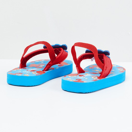 MAX Printed Flip-Flops with Backstrap