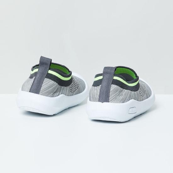 MAX Textured Slip-on Booties