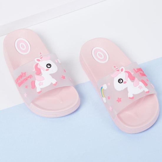 MAX Unicorn Applique Sliders