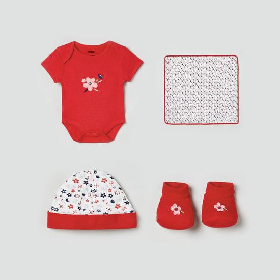 MAX Printed Romper Gift Set - Pack of 5