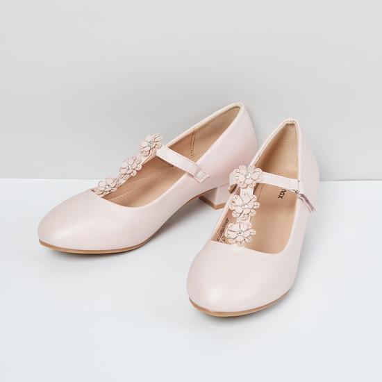 MAX Floral Embellished Block Heels