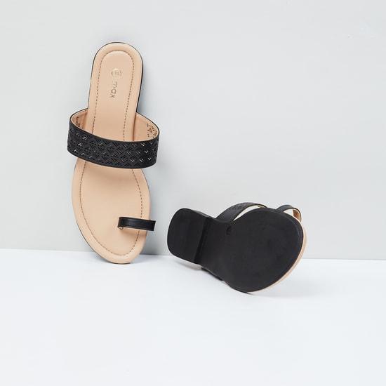 MAX Laser-Cut Toe-Ring Flats