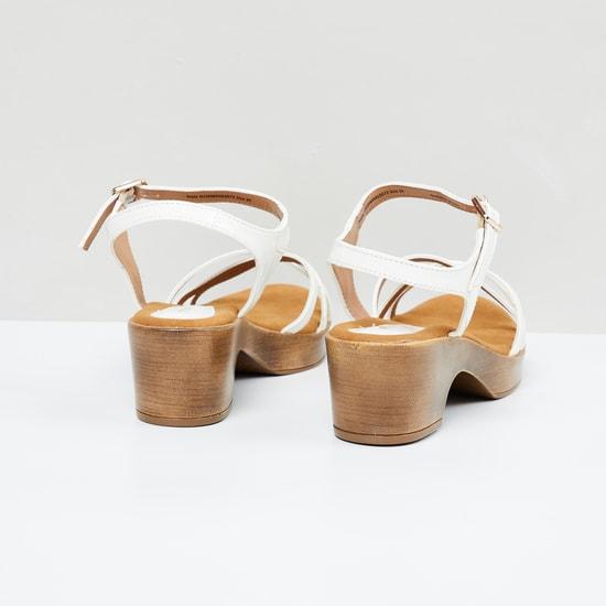 MAX Solid Slingback Block Heels