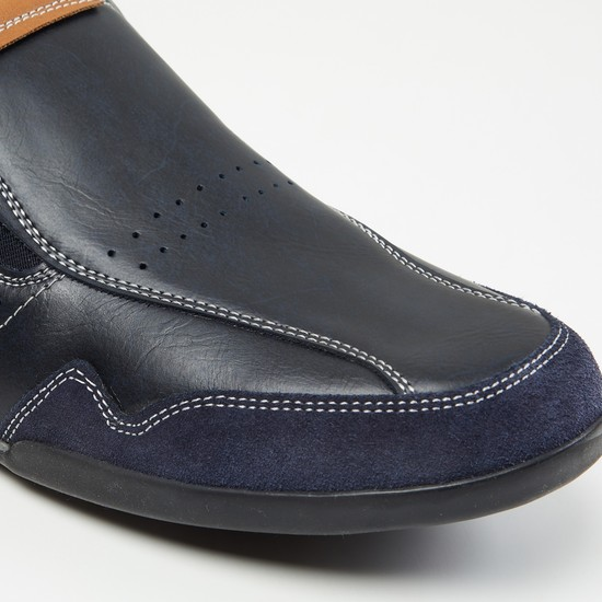 MAX Panelled Casual Loafers
