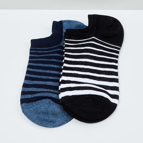 MAX Striped Socks- Pack of 2