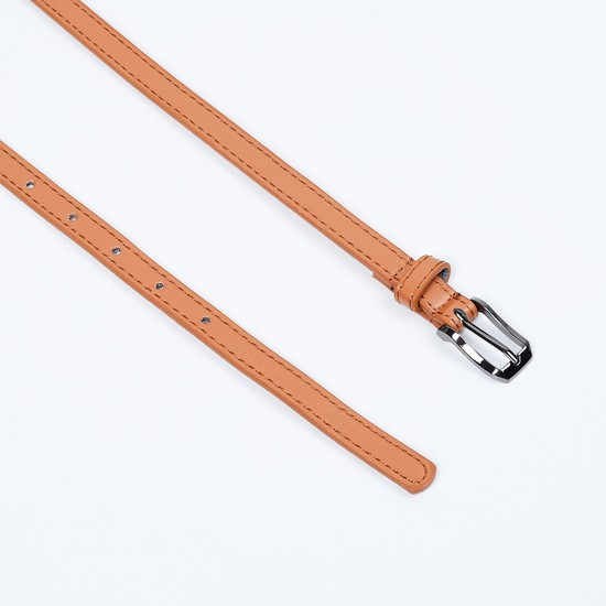 MAX Solid Belt with Buckle Closure