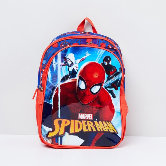 MAX Spiderman Print Backpack