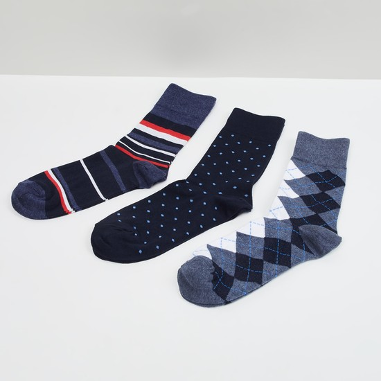 MAX Jacquard Socks - Pack of 3 Pairs