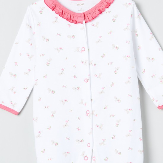 MAX Printed Knitted Sleepsuit