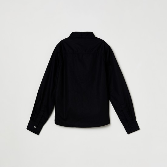 MAX Solid Full-Sleeves Shirt