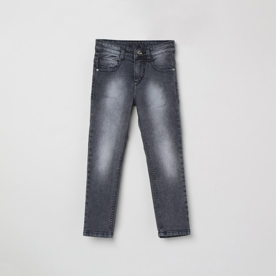 MAX Stonwashed Slim Fit Jeans