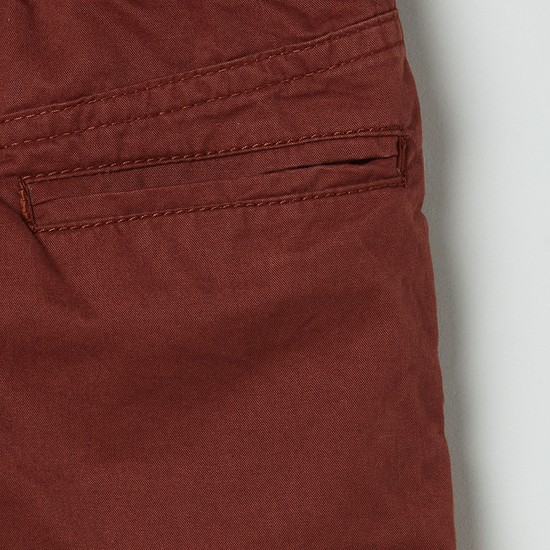 MAX Solid Full-Length Trousers