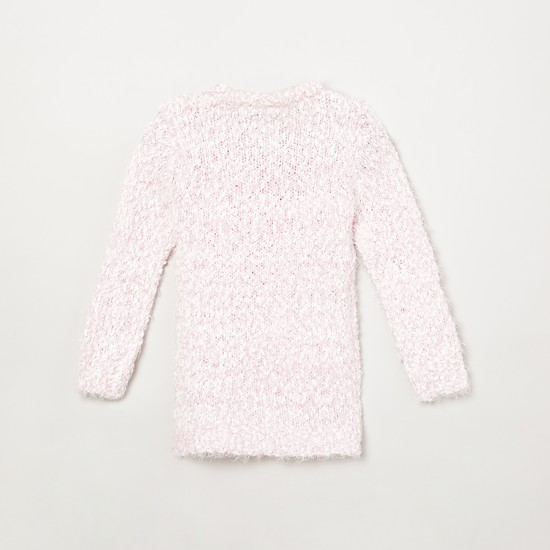 MAX Butterfly Embellished Full Sleeves Sweater