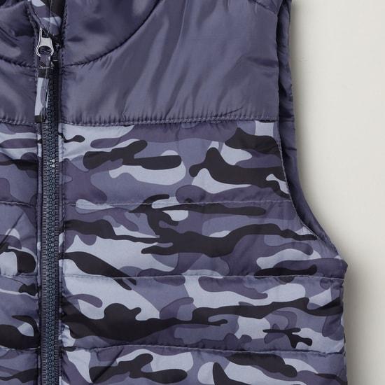MAX Printed Puffer Jacket