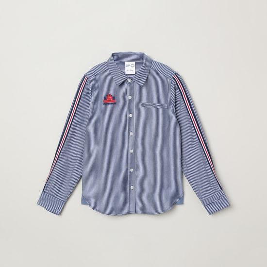 MAX Striped Full-Sleeves Shirt