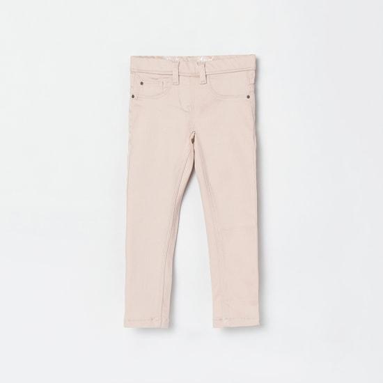MAX Solid Skinny 5-Pocket Jeans