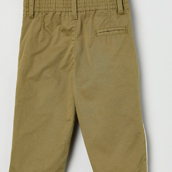 MAX Solid Casual Trousers