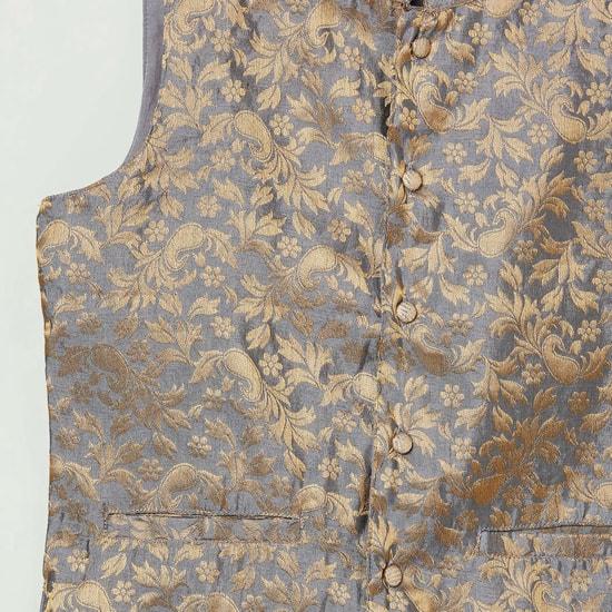 MAX Foil Print Sleeveless Jacket