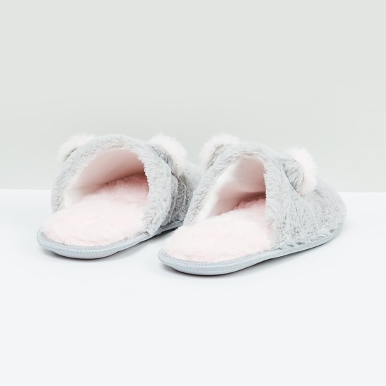 MAX Faux Fur Room Slippers
