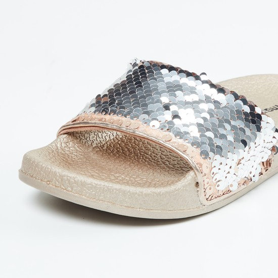 MAX Sequinned Textured Sliders