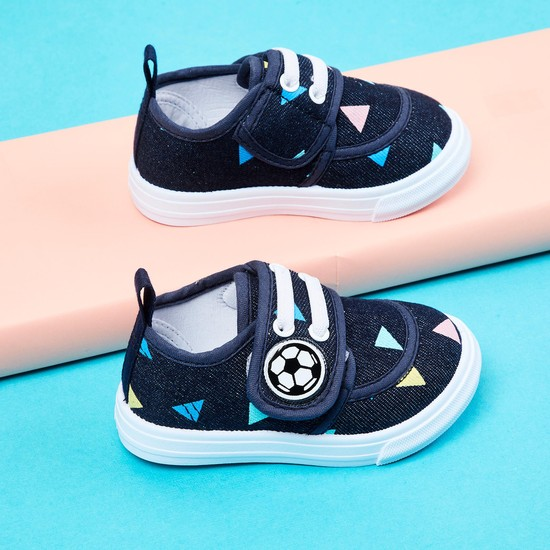 MAX Printed Velcro-Strap Casual Shoes