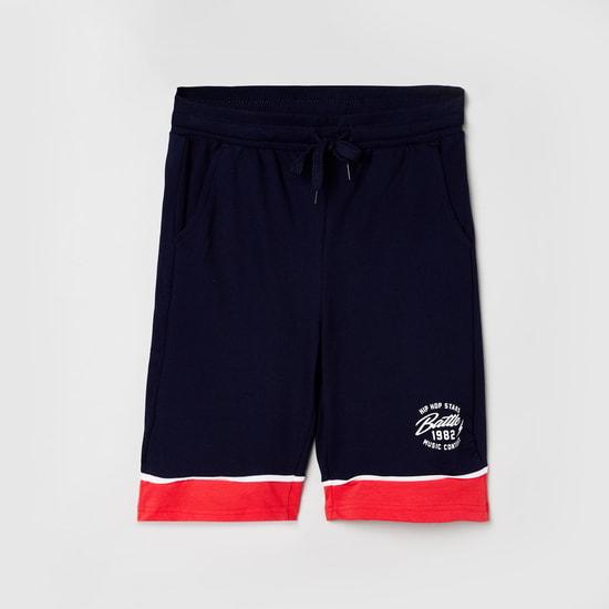 MAX Colourblocked Elasticated Shorts