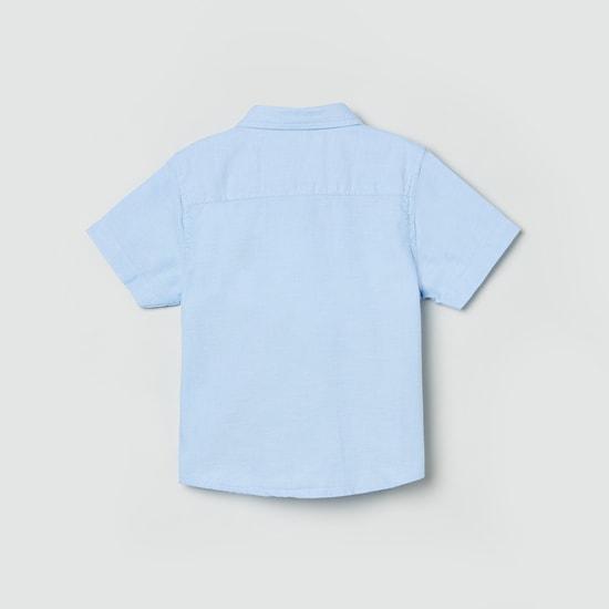 MAX Colourblocked Short Sleeves Casual Shirt