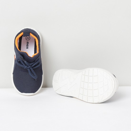 MAX Textured Casual Lace-Up Canvas Shoes