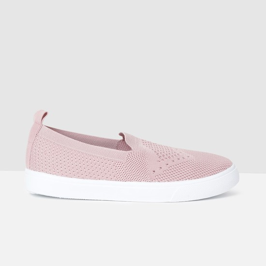 MAX Patterned Weave Slip-On Casual Shoes