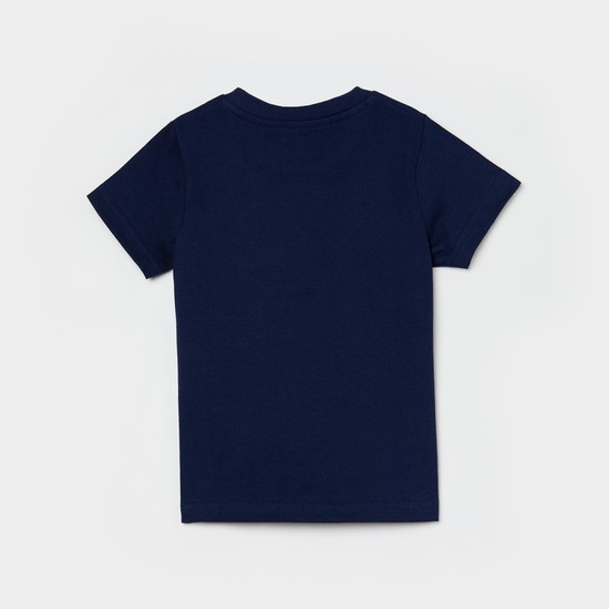 MAX Typographic Printed Crew Neck T-shirt