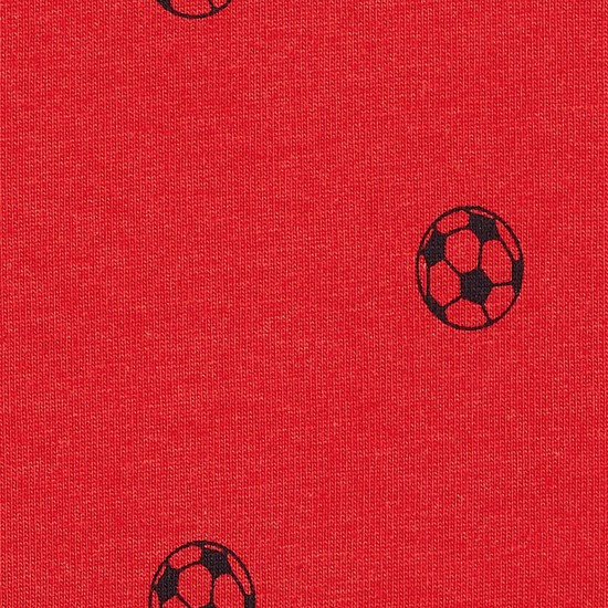 MAX Football Print Crew Neck T-shirt