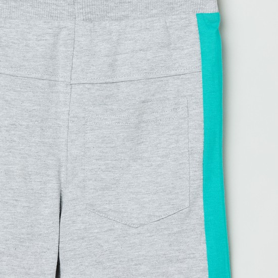 MAX Printed Elasticated Bermuda Shorts