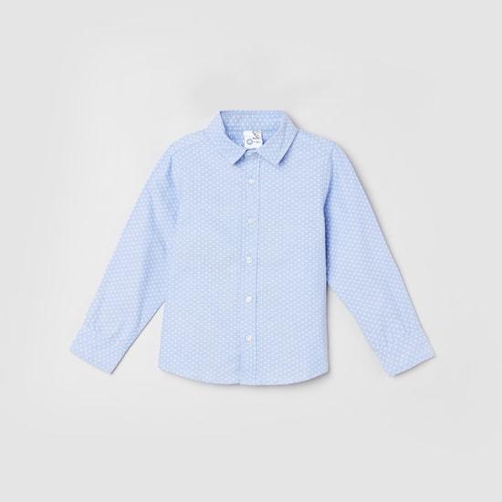 MAX Printed Long Sleeves Casual Shirt