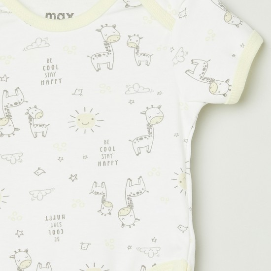 MAX Printed Knitted Bodysuit - Set 2
