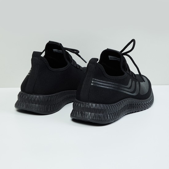 MAX Textured Lace-up Casual Shoes