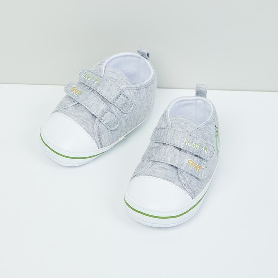MAX Printed Velcro Strap Shoes