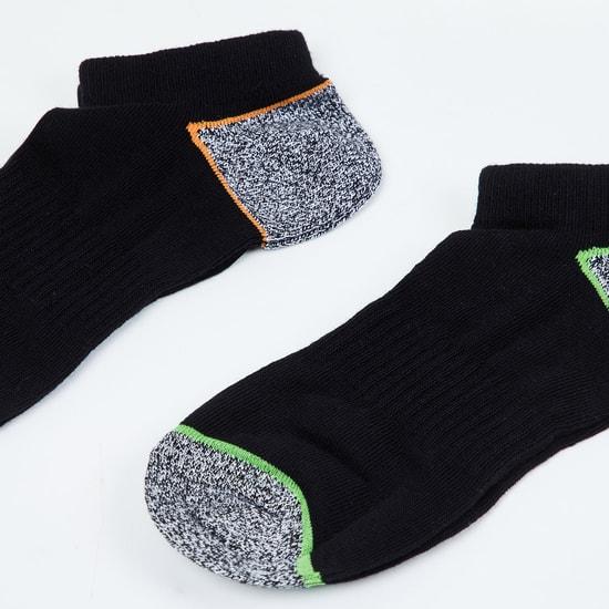 MAX Kids Colourblocked Ankle-Length Socks - Set of 2 - 10-12 Y