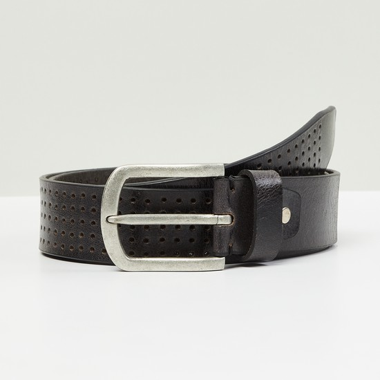 MAX Laser Cut-Out Detail Casual Belt