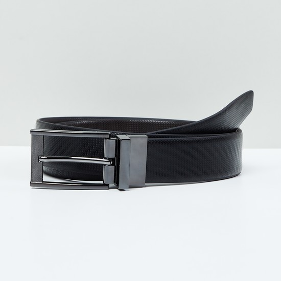 MAX Genuine Leather Textured Belt