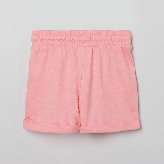 MAX Schiffli Detailed Elasticated Shorts
