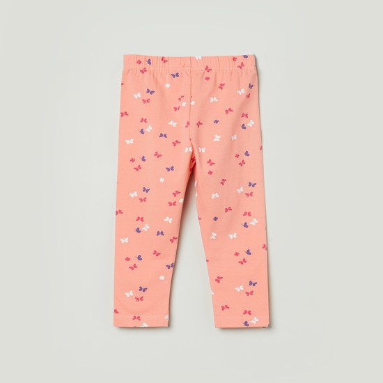 MAX Printed Knitted 3/4th Leggings