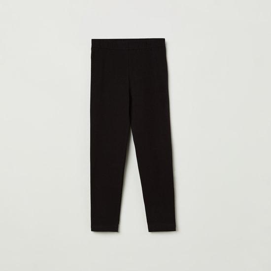 MAX Solid Elasticated Full-Length Leggings