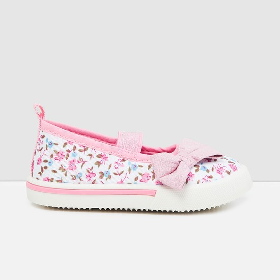 MAX Printed Mid Strap Canvas Shoes