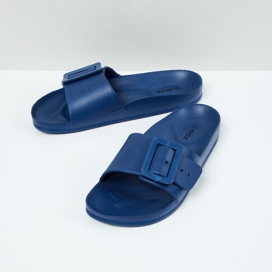 MAX Solid Buckle Detail Sliders