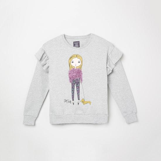 MAX Applique Full Sleeves Sweatshirt