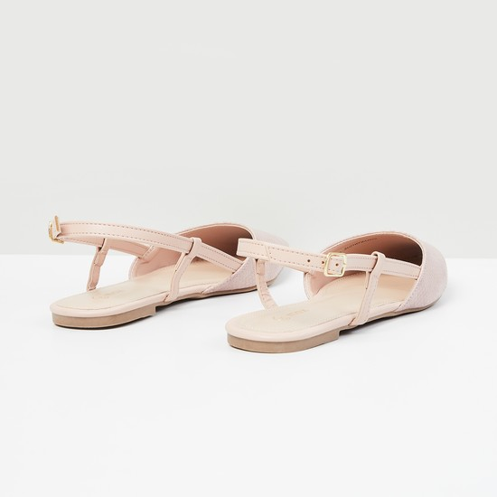 MAX Textured Pointed Toe Shoes