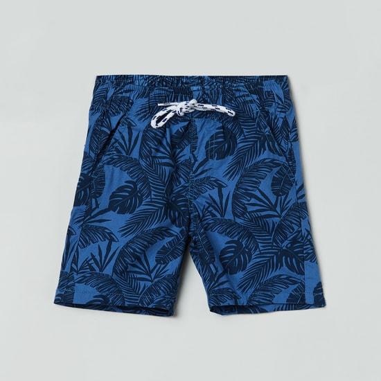 MAX Printed Elasticated Woven Shorts